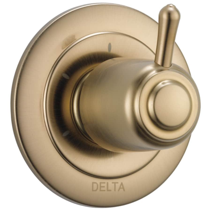 Delta Champagne Bronze Shower Handle