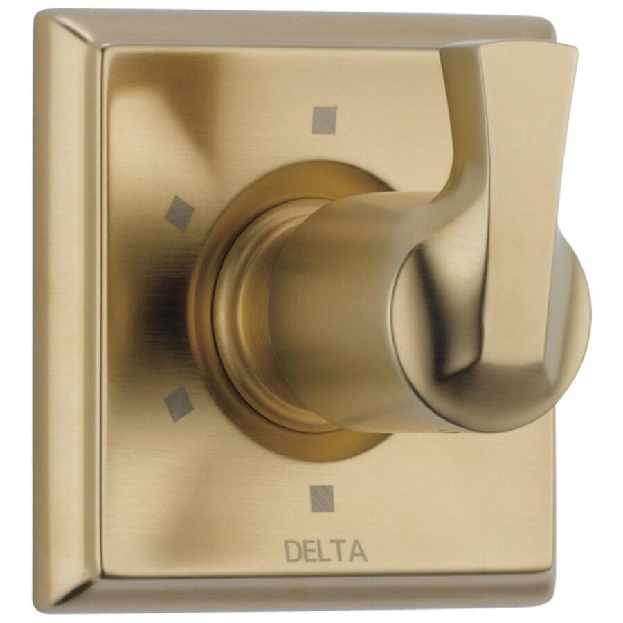 Delta 6-Setting 3-Port Diverter Trim