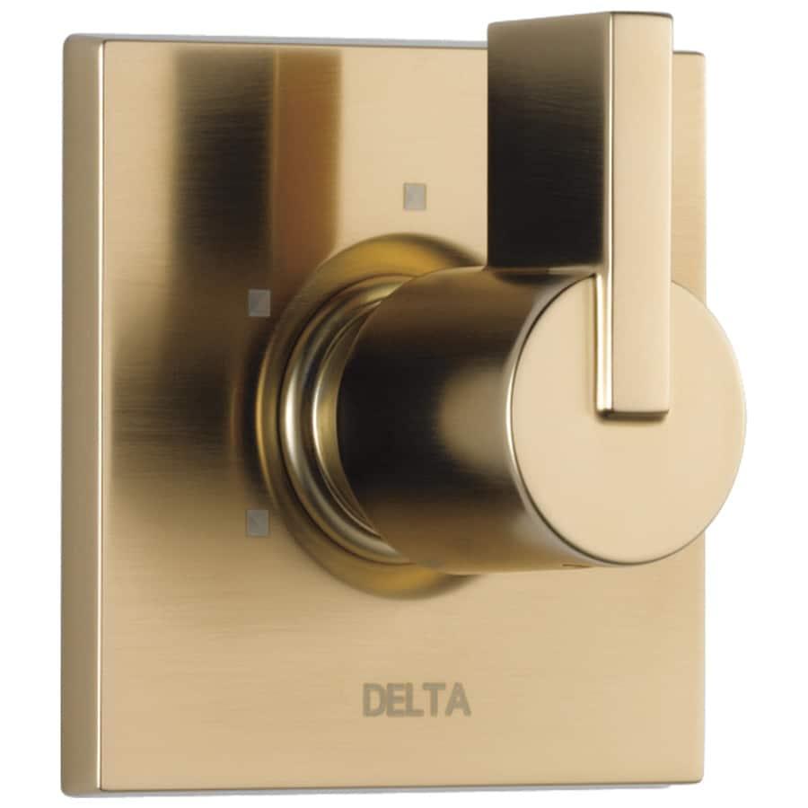 Delta Champagne Bronze Shower Handle
