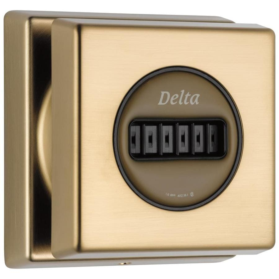 Delta Champagne Bronze Bathtub and Shower Jet