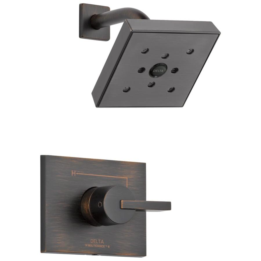 Delta Vero Venetian Bronze 1-Handle WaterSense Shower Faucet Trim Kit with Single Function Showerhead