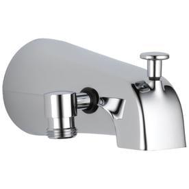 Delta Chrome Bathtub Spout With Diverter