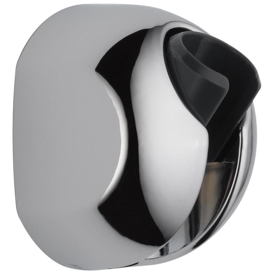 Delta Chrome Hand Shower Holder At Lowes Com