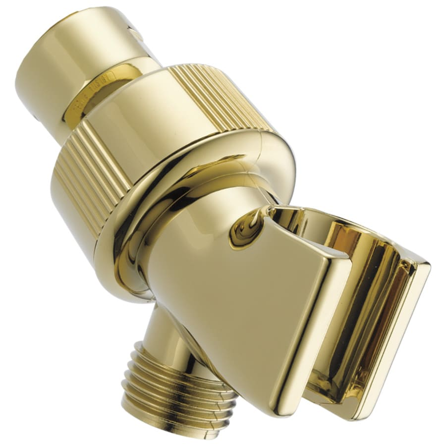 Shop Delta Polished Brass Shower Arm Mount At