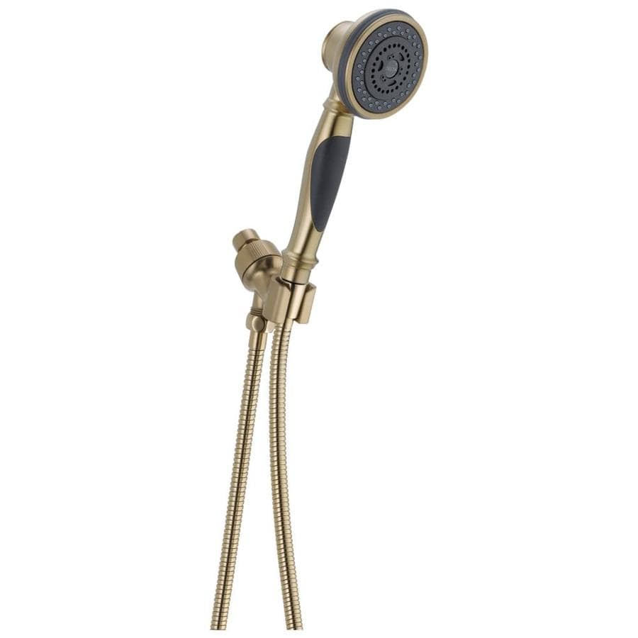 Delta 4-in 2.5-GPM (9.5-LPM) Champagne Bronze 3-Spray Hand Shower