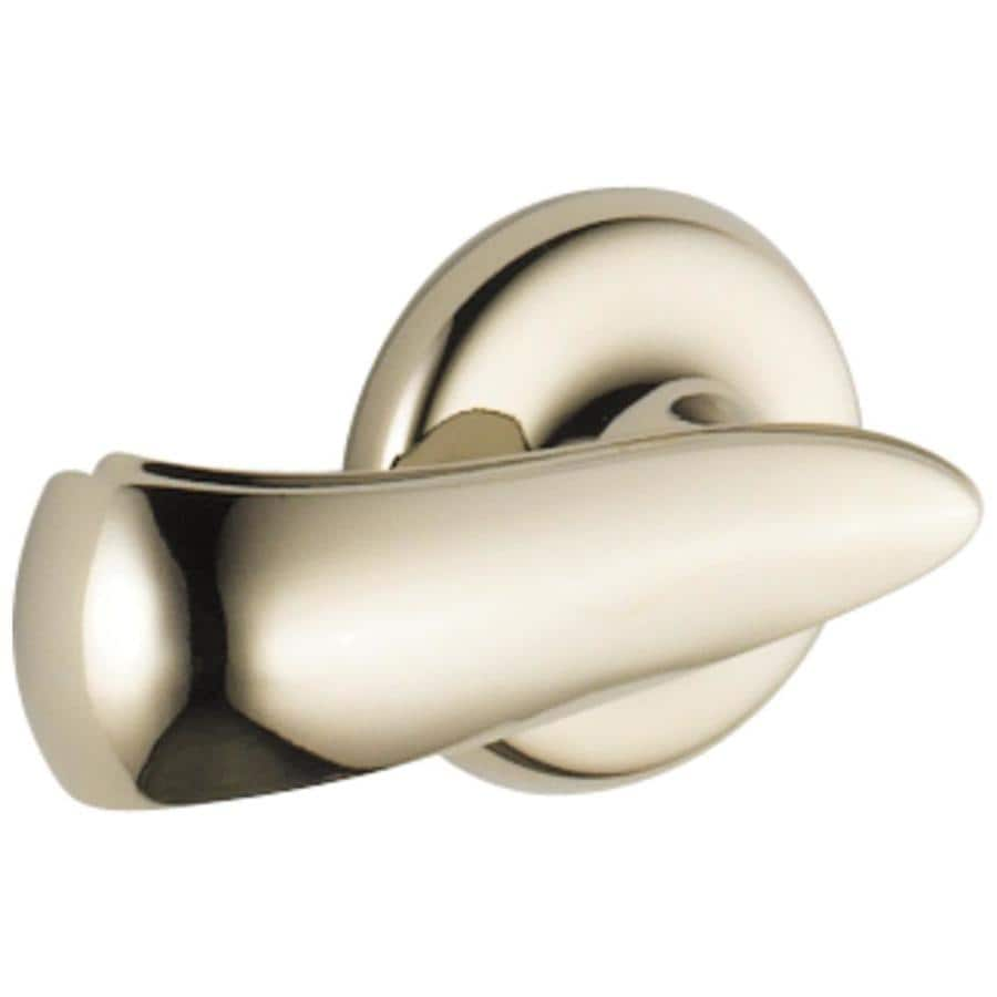 Delta Cassidy Polished Nickel Toilet Handle