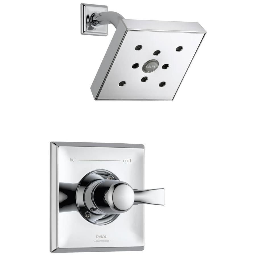 Delta Dryden Chrome 1 Handle Shower Faucet At Lowes Com