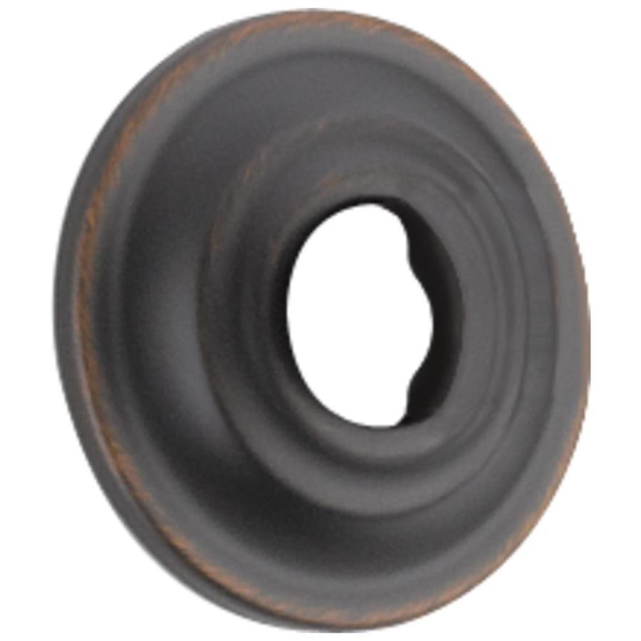 Delta 2.38-in Oil-Rubbed Bronze Shallow Flange