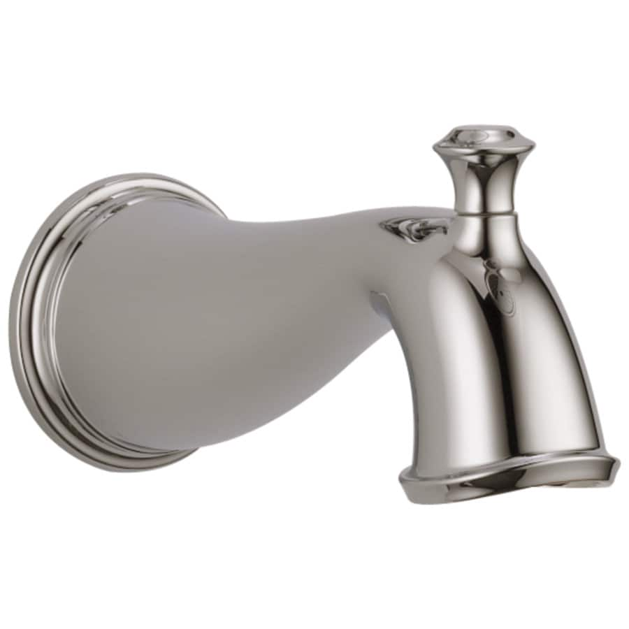 Delta Nickel Tub Spout with Diverter