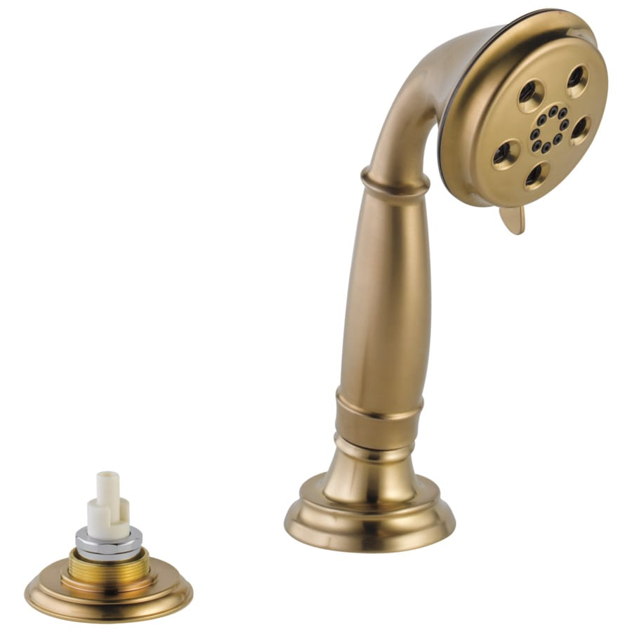 Delta Cassidy with H2Okinetic 3.5-in 2.0-GPM (7.6-LPM) Champagne Bronze 1-Spray Hand Shower