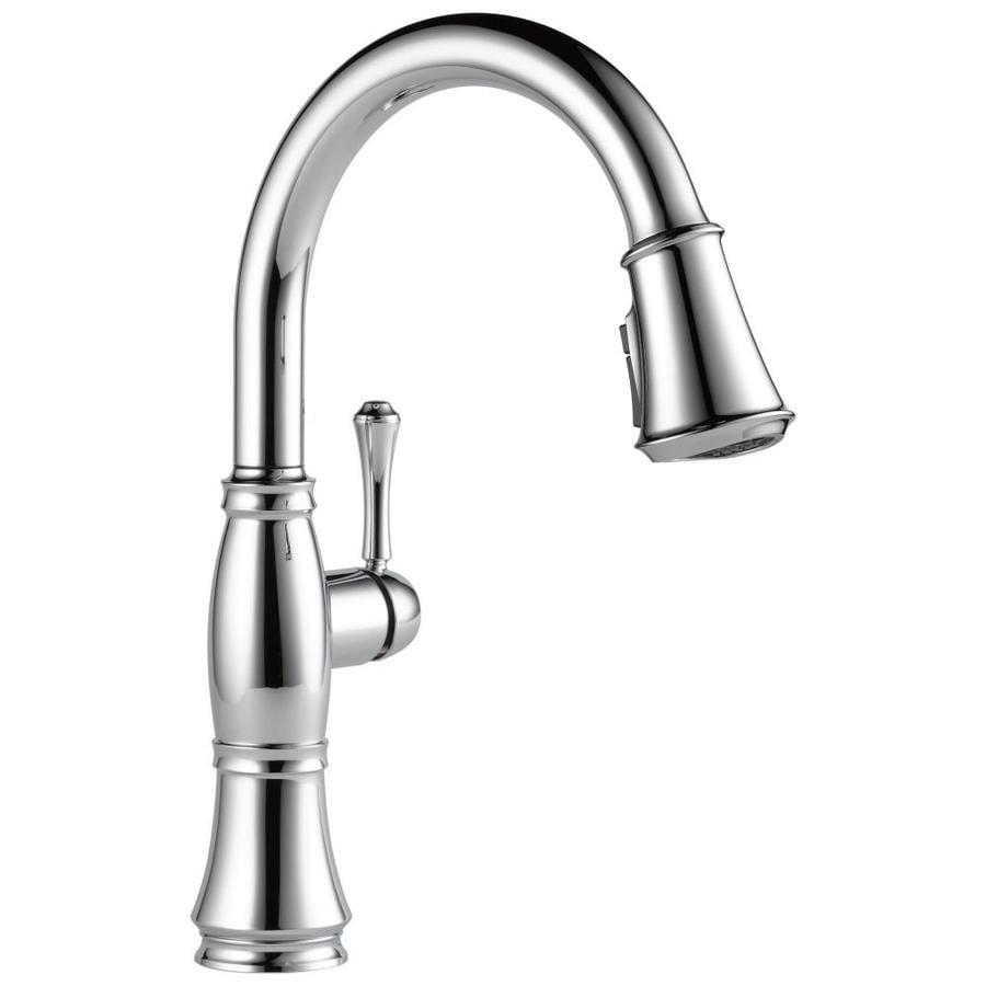 Delta Cassidy Chrome 1-Handle Pull-Down Kitchen Faucet