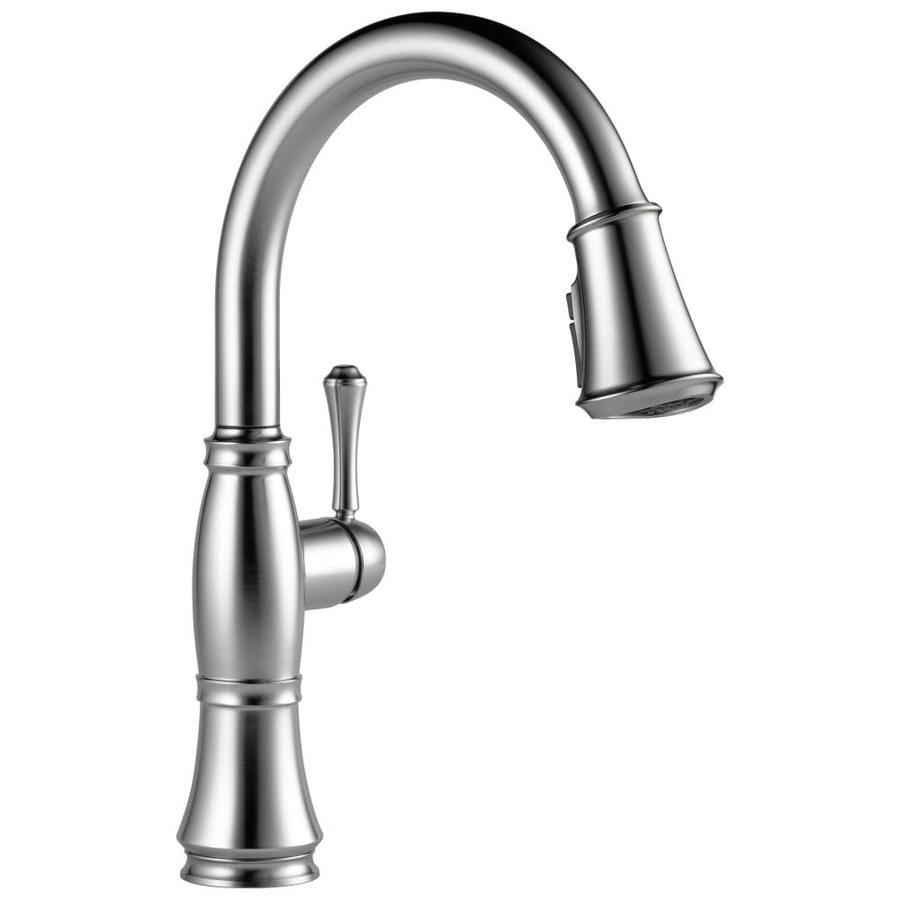 Delta Cassidy Arctic Stainless Kitchen Faucet