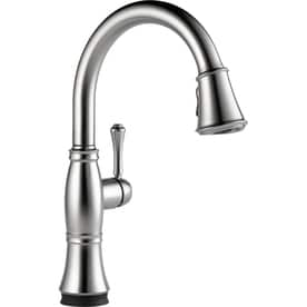 Shop Delta Touch Faucets At Lowescom - Delta touchless kitchen faucet