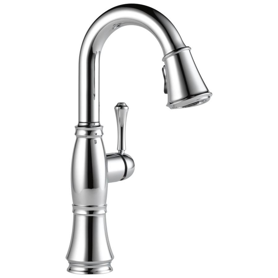 Delta Cassidy Chrome 1-Handle Bar and Prep Faucet