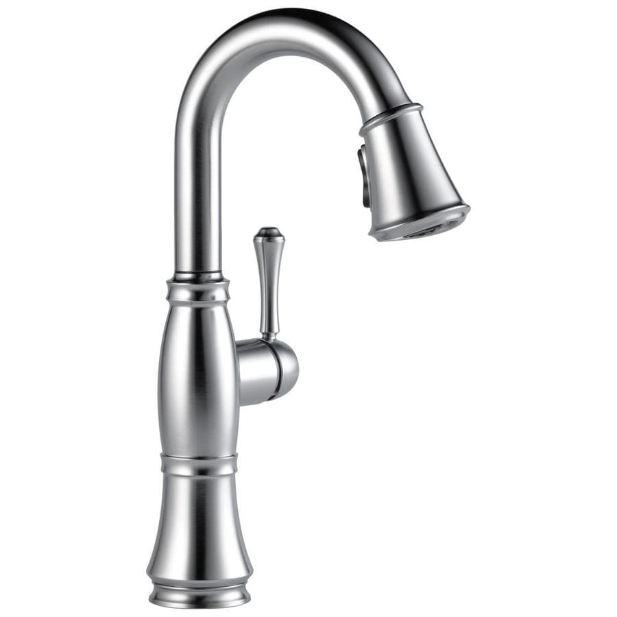 Delta Cassidy Arctic Stainless 1-Handle Kitchen Faucet
