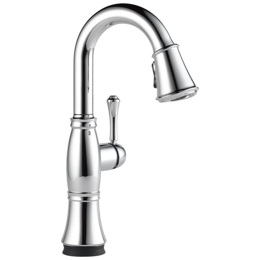 Delta Cassidy Touch Chrome 1-Handle Bar and Prep Faucet
