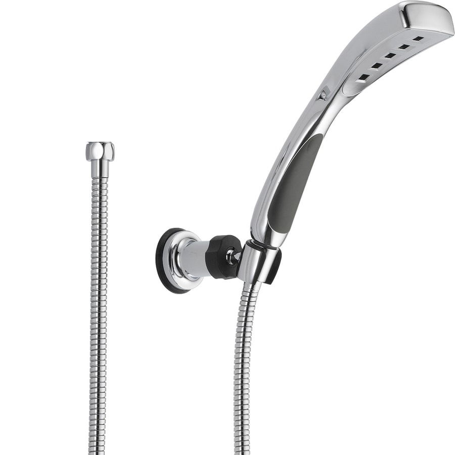 Delta H2Okinetic 2.5-in 2.0-GPM (7.6-LPM) Chrome 1-Spray WaterSense Hand Shower