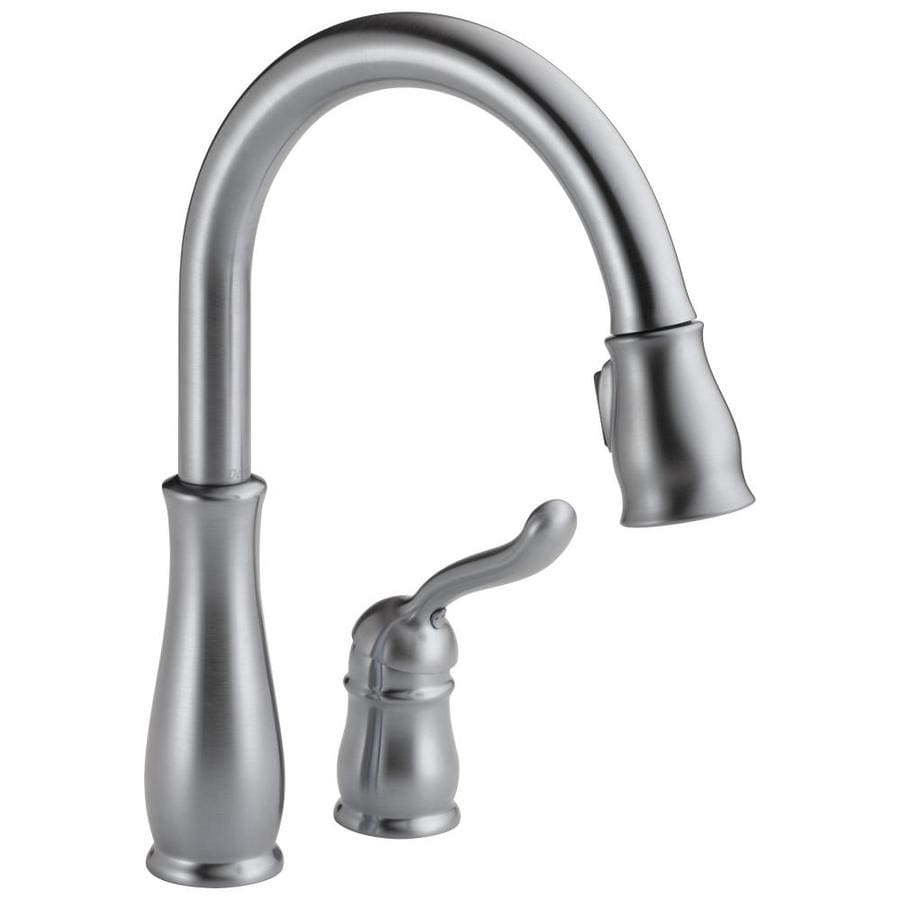 Delta Leland Arctic Stainless 1-Handle Pull-Down Kitchen Faucet