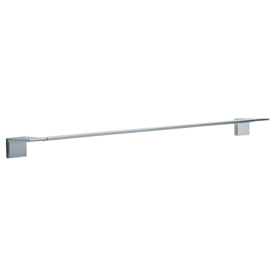 Delta Vero Chrome Single Towel Bar (Common: 30-in; Actual: 26-in)
