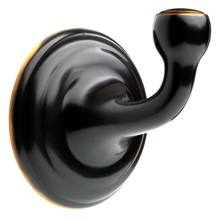 Delta Windemere 1-Hook Oil Rubbed Bronze Robe Hook