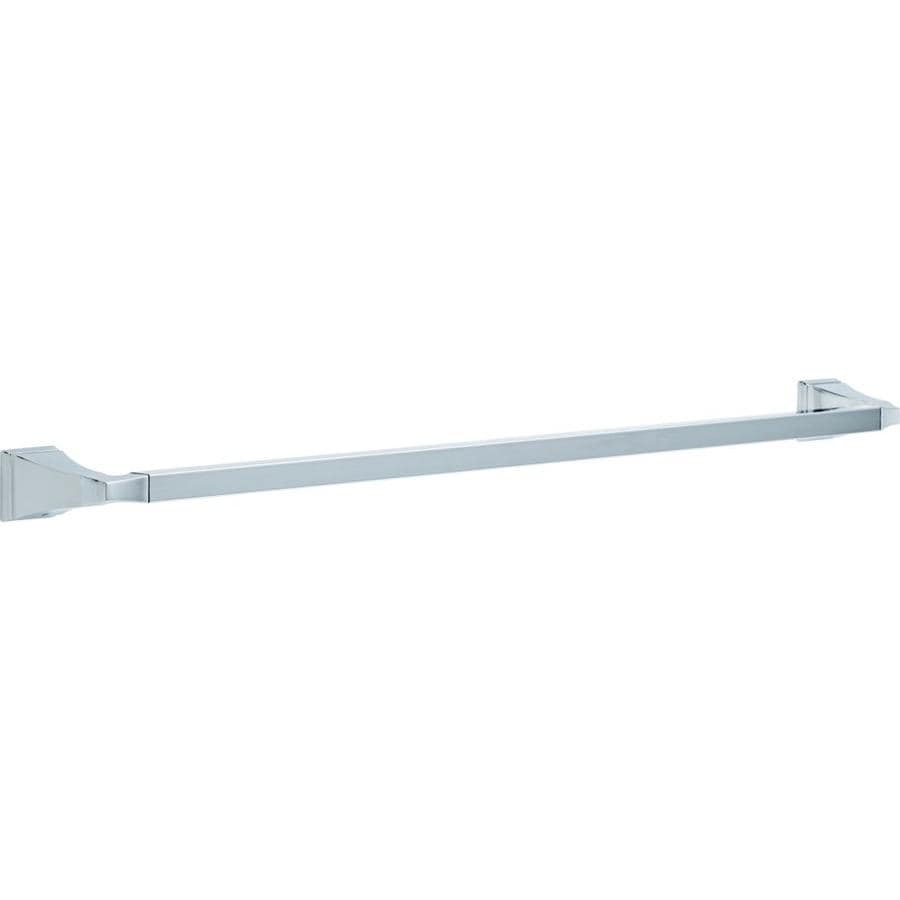 Delta Dryden Chrome Single Towel Bar (Common: 30-in; Actual: 31.75-in)