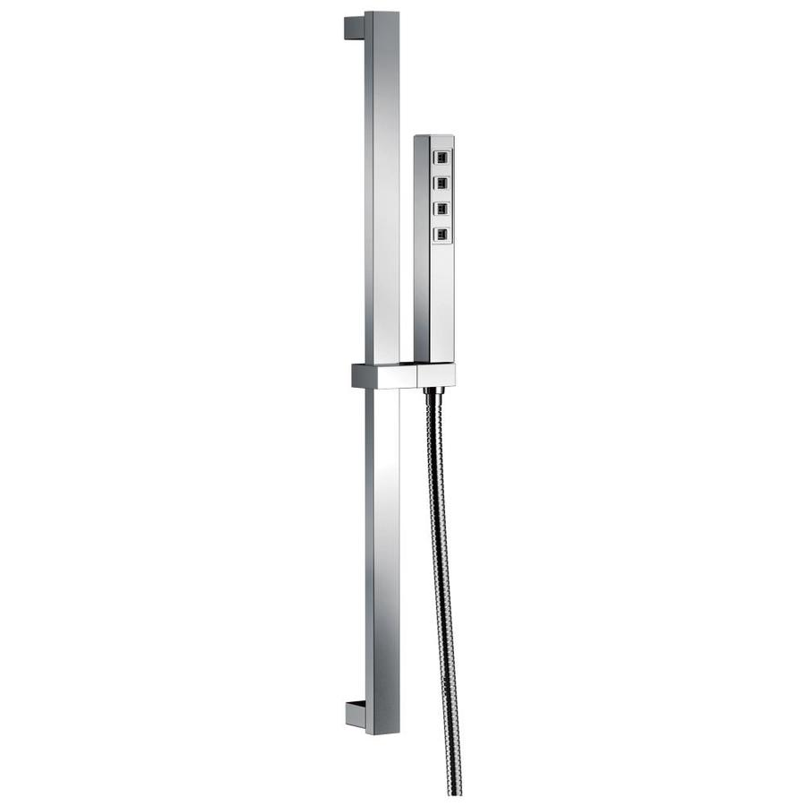 Delta 3.69-in 2.0-GPM (7.6-LPM) Chrome WaterSense Hand Shower