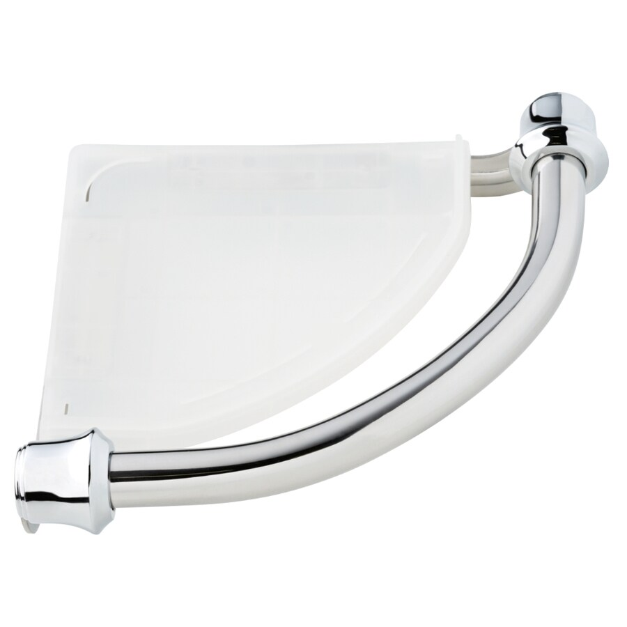 Delta Traditional 8.75-in Polished Chrome Wall Mount Grab Bar