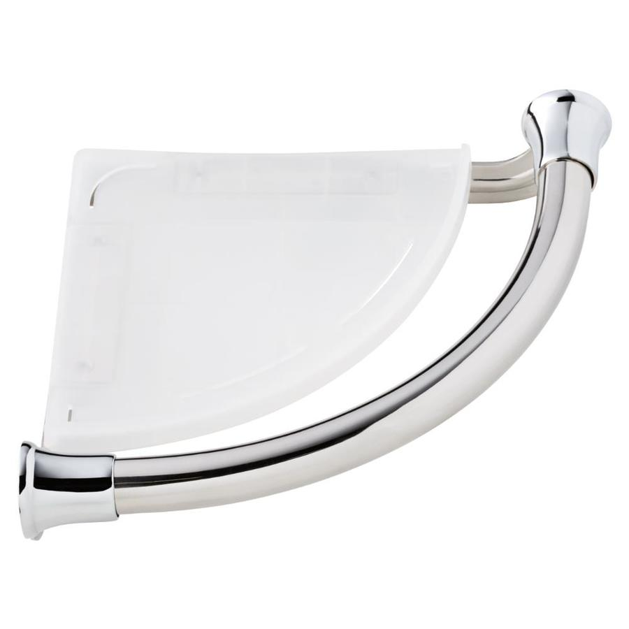Delta Transitional 8 84 In Polished Chrome Wall Mount Grab Bar In The Grab Bars Department At Lowes Com