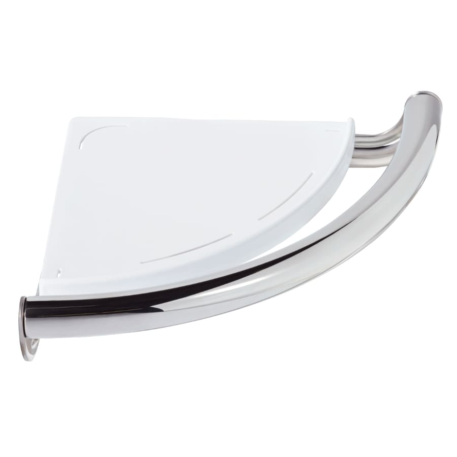 DELTA 9.13-in Polished Chrome Wall Mount Grab Bar