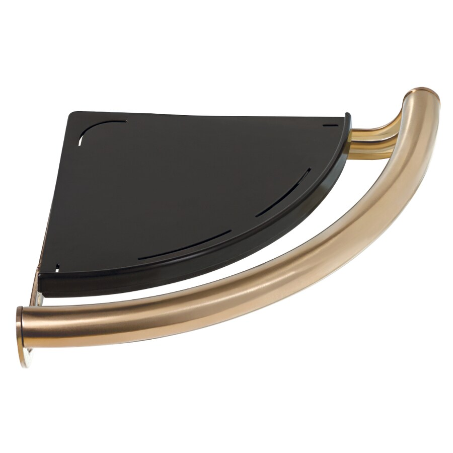Delta Contemporary 8.75-in Champagne Bronze Wall Mount Grab Bar