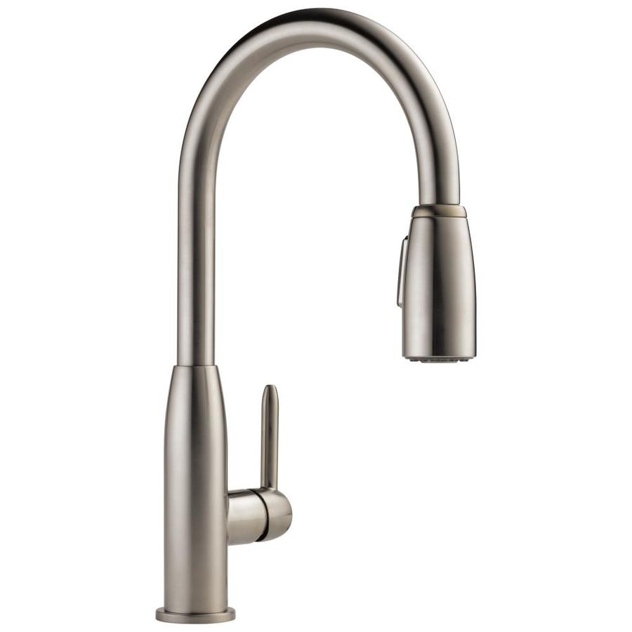Peerless Apex Stainless 1-Handle Pull-Down Kitchen Faucet