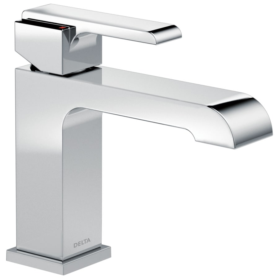 Delta Ara Chrome 1-Handle 4-in Centerset WaterSense Bathroom Faucet