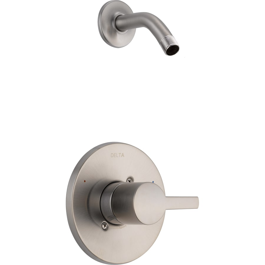 Delta Compel Stainless 1-Handle Shower Faucet