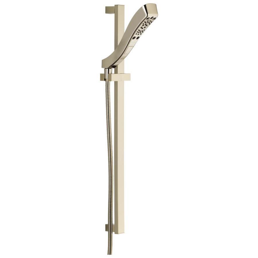 Delta 2.44-in 2.0-GPM (7.6-LPM) Polished Nickel 4-Spray WaterSense Hand Shower