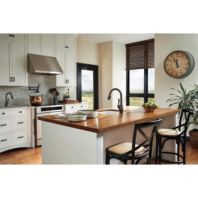 Delta Leland Venetian Bronze 1 Handle Deck Mount Bar And Prep Handle Kitchen Faucet In The Kitchen Faucets Department At Lowes Com