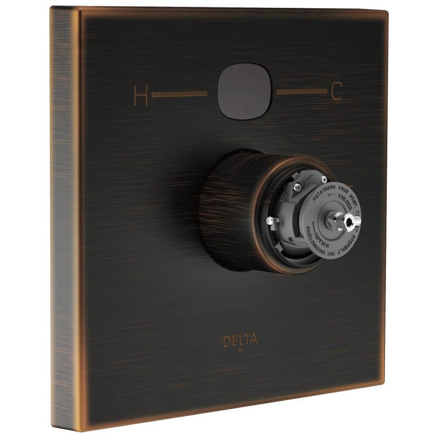 Delta Venetian Bronze 1-Handle Shower Faucet Trim Kit with Sold Separately Showerhead