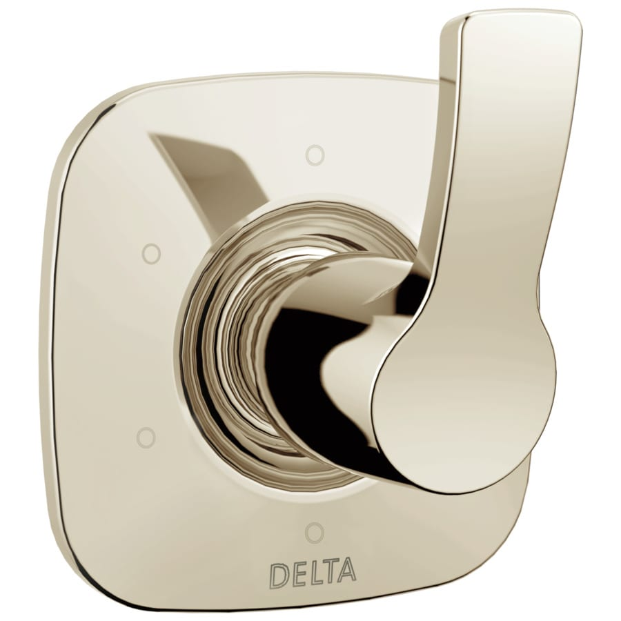Delta Polished Nickel Shower Handle