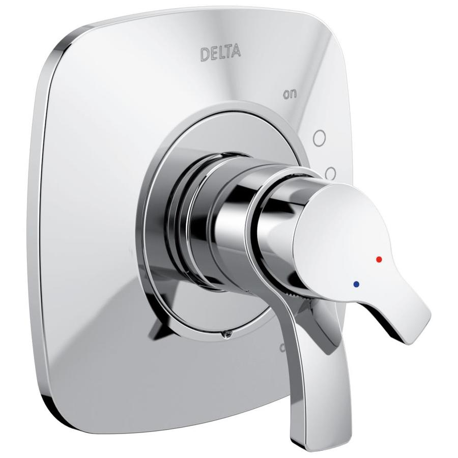 Delta Tesla Chrome 2 Handle Shower Faucet Trim Kit With Sold