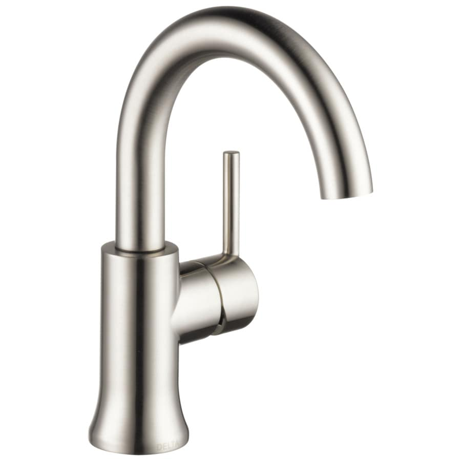 Delta Trinsic Stainless 1 Handle Single Hole Watersense