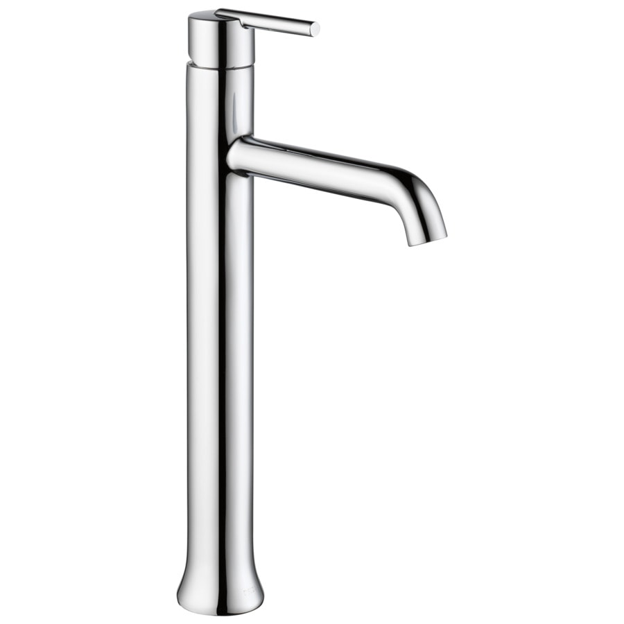 Shop Delta Trinsic Chrome 1 Handle Vessel Bathroom Sink Faucet At