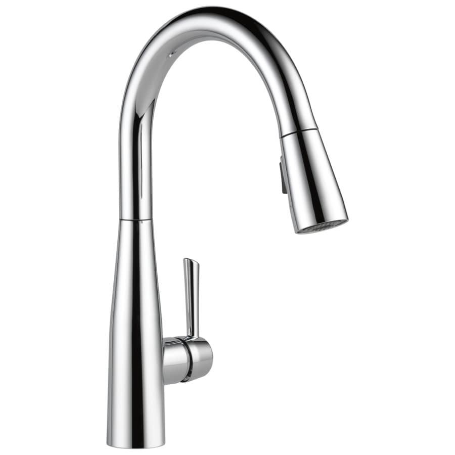 Delta Essa Chrome 1-Handle Pull-Down Kitchen Faucet