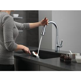 Delta Essa Touch2o Arctic Stainless 1 Handle Deck Mount