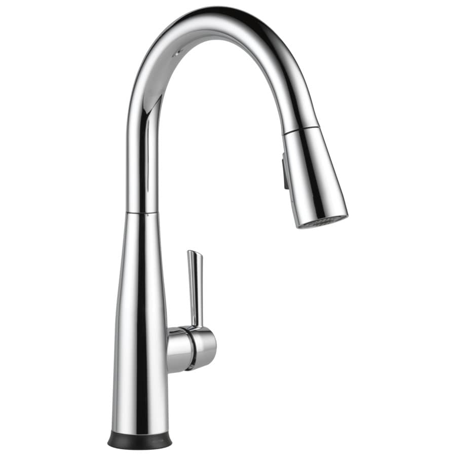 Delta Essa Touch2O Chrome 1-Handle Deck Mount Pull-Down Kitchen Faucet