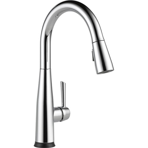 Delta Essa Touch2O Chrome 1-Handle Deck Mount Pull-down Touch Residential  Kitchen Faucet at Lowes.com