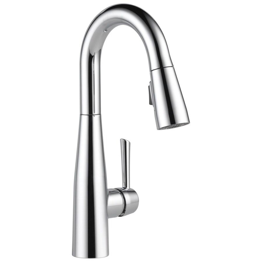 Delta Essa Chrome 1-Handle Bar and Prep Faucet
