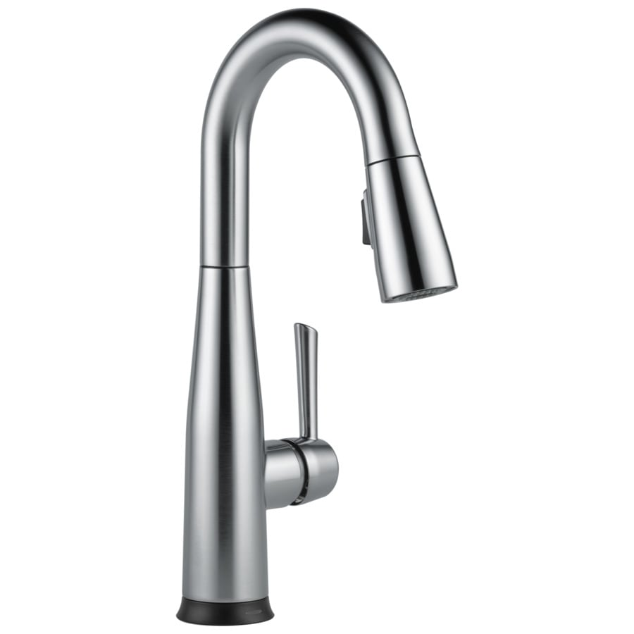 Delta Essa Arctic Stainless 1-Handle Bar and Prep Faucet