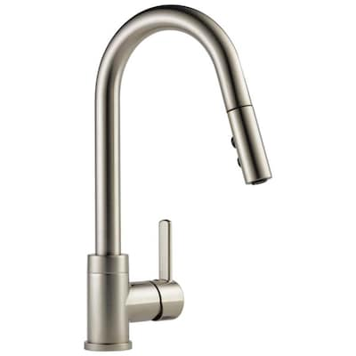Precept Stainless 1-handle Deck Mount Pull-down Kitchen Faucet