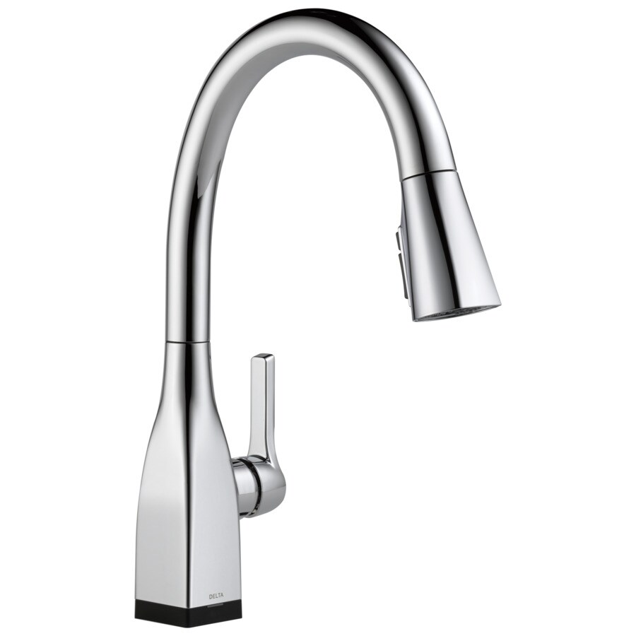 Delta Mateo Touch2O Chrome 1-Handle Pull-Down Touch Kitchen Faucet