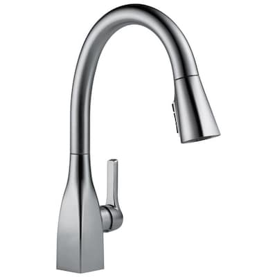 Mateo Arctic Stainless 1-handle Deck Mount Pull-down Kitchen Faucet