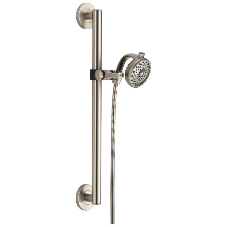 Shop Delta Stainless 4 Spray Shower Head At Lowes Com